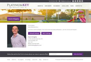 Platinum Key Agent Page