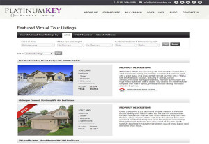 Platinum Key Virtual Tour Listing