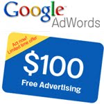 $100 Google AdWords Coupon