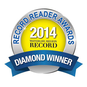 Record Readers Choice Award For Favourite Web Design Company