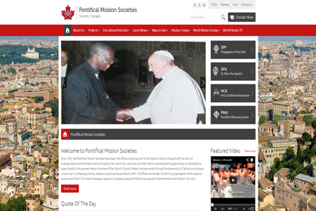 Pontifical Mission Societies